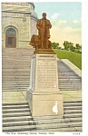 Click here to enlarge image and see more about item p8904: William McKinley Statue Canton OH Postcard p8904