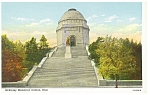 Click here to enlarge image and see more about item p8905: William McKinley Memorial Canton OH Postcard p8905