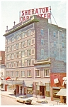 Sheraton Carpenter Hotel Sioux Falls SD Postcard p8911