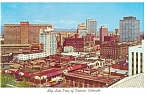 Click here to enlarge image and see more about item p8913: Skyline of Denver, CO Postcard