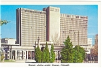 Click here to enlarge image and see more about item p8914: Denver Hilton Hotel,Denver, CO Postcard