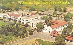 Click here to enlarge image and see more about item p8931: San Diego de Alcala Mission CA Postcard p8931