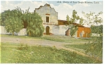 Click here to enlarge image and see more about item p8937: San Diego Mission Ruins, CA Postcard