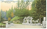 Portland, OR, Entrance to Washington Park Postcard