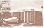 Scaife Hall Mellon University Pittsburgh PA Postcard p8975