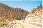 Click here to enlarge image and see more about item p8980: Cimarron Canyon, NM Postcard