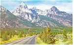Click here to enlarge image and see more about item p8991: Grand Teton Peak WY  Postcard p8991
