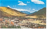 Jackson, WY,Aerial View Postcard