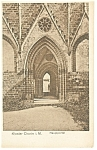 Berlin Germany Cloister Chorin Postcard p9139