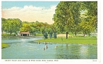 Click here to enlarge image and see more about item p9152: Canton OH  West Creek Park Postcard p9152