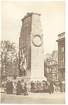 Click here to enlarge image and see more about item p9161: Whitehall England The Cenotaph Postcard p9161