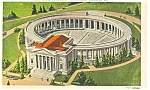 Click here to enlarge image and see more about item p9171: Arlington VA Arlington Memorial Amphitheatre Postcard p9171