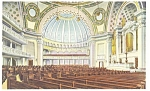 Click here to enlarge image and see more about item p9182: Boston  MA  Interior First Church Christ Scientist Postcard p9182