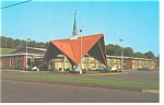 Click here to enlarge image and see more about item p9231: Southington,CT, Howard Johnson's Motel Postcard