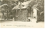 Versailles, Boudoir of Hamlet of Trianon Postcard