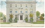 Click here to enlarge image and see more about item p9275: Newburgh, NY, YMCA Building Postcard 1916
