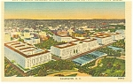 Click here to enlarge image and see more about item p9299: Washington DC Constitution Ave Postcard p9299
