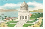 New York City NY Grant s Tomb Postcard p9370