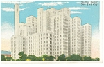 New York City NY Medical Center  Postcard p9372