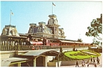 Walt Disney World Steam Railroad Postcard p9394