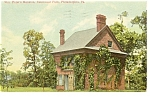 Wm Penn Mansion Philadelphia PA Postcard p9401