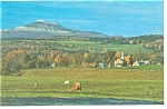 Click here to enlarge image and see more about item p9411: Camel s Hump Vermont Postcard p9411