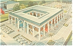 Click here to enlarge image and see more about item p9441: Morocco Pavilion,NY World's Fair Postcard