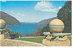 Click here to enlarge image and see more about item p9452: West Point,NY, Trophy Point Postcard