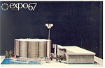Expo 67 Canadian Pacific Pavilion Montreal Postcard p9464