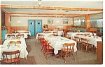 The Willows Cottages Dining Room Postcard p9469