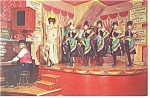 Click here to enlarge image and see more about item p9481: Dodge City KS Miss Kitty at Long Branch Postcard p9481