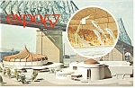Click here to enlarge image and see more about item p9494: Alcan Pavilion Expo 67 Postcard p9494