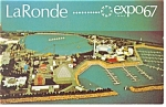 Click here to enlarge image and see more about item p9504: Le Ronde  Expo 67 Postcard