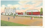 Click here to enlarge image and see more about item p9565: Travel Transport Bldg Chicago World s Fair Postcard p9565