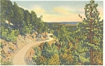 Click here to enlarge image and see more about item p9590: Sandia Loop Road Albuquerque NM  Postcard p9590