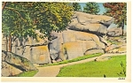 Click here to enlarge image and see more about item p9596: Gettysburg PA Devil s Den Ledge Postcard p9596