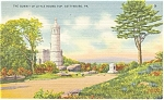 Click here to enlarge image and see more about item p9599: Gettysburg PA Little Round Top Postcard p9599