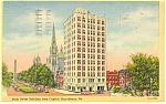 Harrisburg,PA, State Street Building Postcard