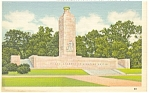 Gettysburg,PA, Eternal Light Monument Postcard