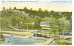 Click here to enlarge image and see more about item p9658: US Fish Hatchery Spearfish Black Hills SD Postcard p9658