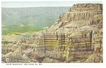 Click here to enlarge image and see more about item p9682: Sheep Mountain Bad Lands  SD Postcard p9682