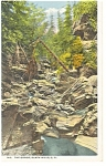 Click here to enlarge image and see more about item p9690: The Gorge, Black Hills, SD Postcard