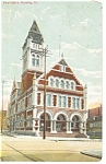 Reading, PA , Post Office Postcard 1914