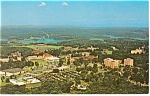 Click here to enlarge image and see more about item p9730: Aerial View of Clemson University SC Postcard p9730