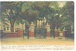 Click here to enlarge image and see more about item p9737: Providence RI Gate Brown University Postcard p9737 1905