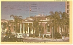 US Post Office Lakeland, FL  Postcard