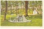 Click here to enlarge image and see more about item p9778: Gettysburg,PA, Spangler's Spring Postcard