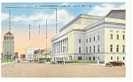 St Louis. MO, Memorial Plaza Postcard 1941