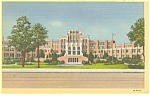 Click here to enlarge image and see more about item p9812: Little Rock AR Senior High School Postcard p9812 1947