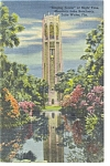 Click here to enlarge image and see more about item p9840: Lake Wales FL Singing Tower Postcard p9840 1950